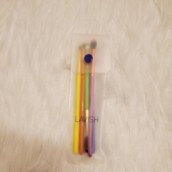 Lavish 5 Piece Neon Brushes